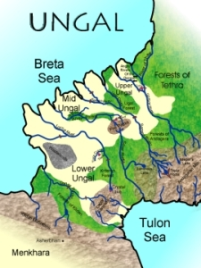 Map of Ungal