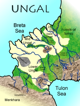 Map of Ungal