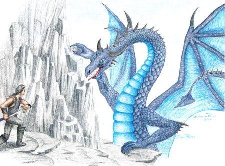 Blue Dragon by Dawn Ross