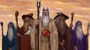 saruman, gandalf, radagast blue wizard lord of the rings hobbit