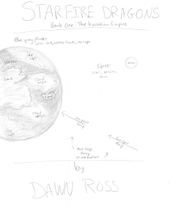 Book Cover Part One Basic Sketch