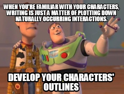 Toy Story on Writing Characters