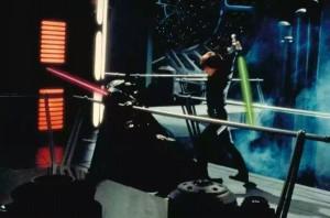 Luke Skywalker Fights His Father