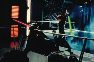 Luke Skywalker Fights His Father