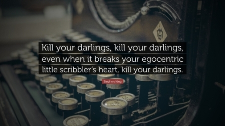 Stephen King Kill Your Darlings